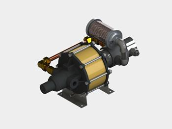 Single Acting (SA) Gas Booster